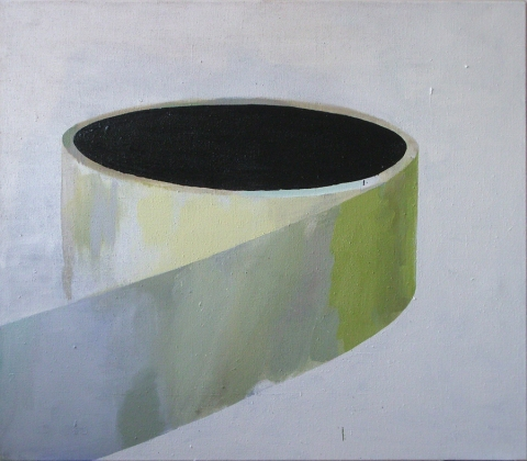Tape, 2011, oil and acrylic on canvas, 170 x 150 cm